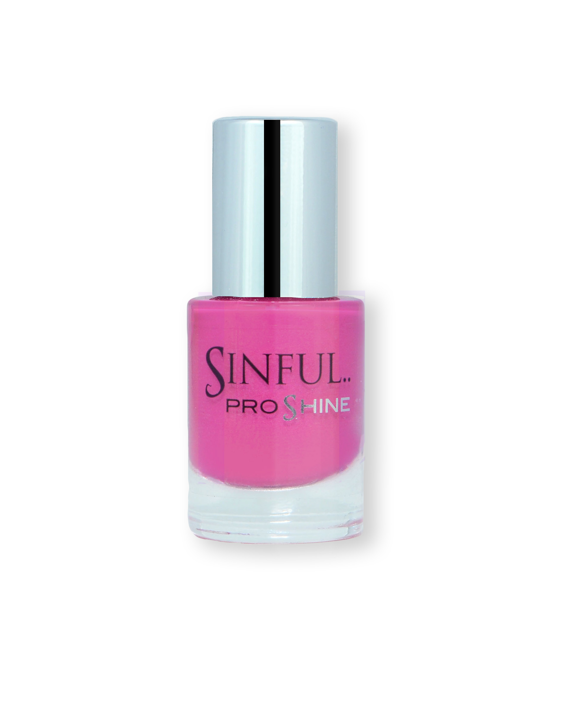 Sinful PROshine is a revolution into top spec imitation gel-like formula, easy application, full coverage and a sleek finish. Spoil yourself with the choice of 42 shades, expertly formulated with the finest grade of pigments. Fortune: Orchid pink with a subtle pearl