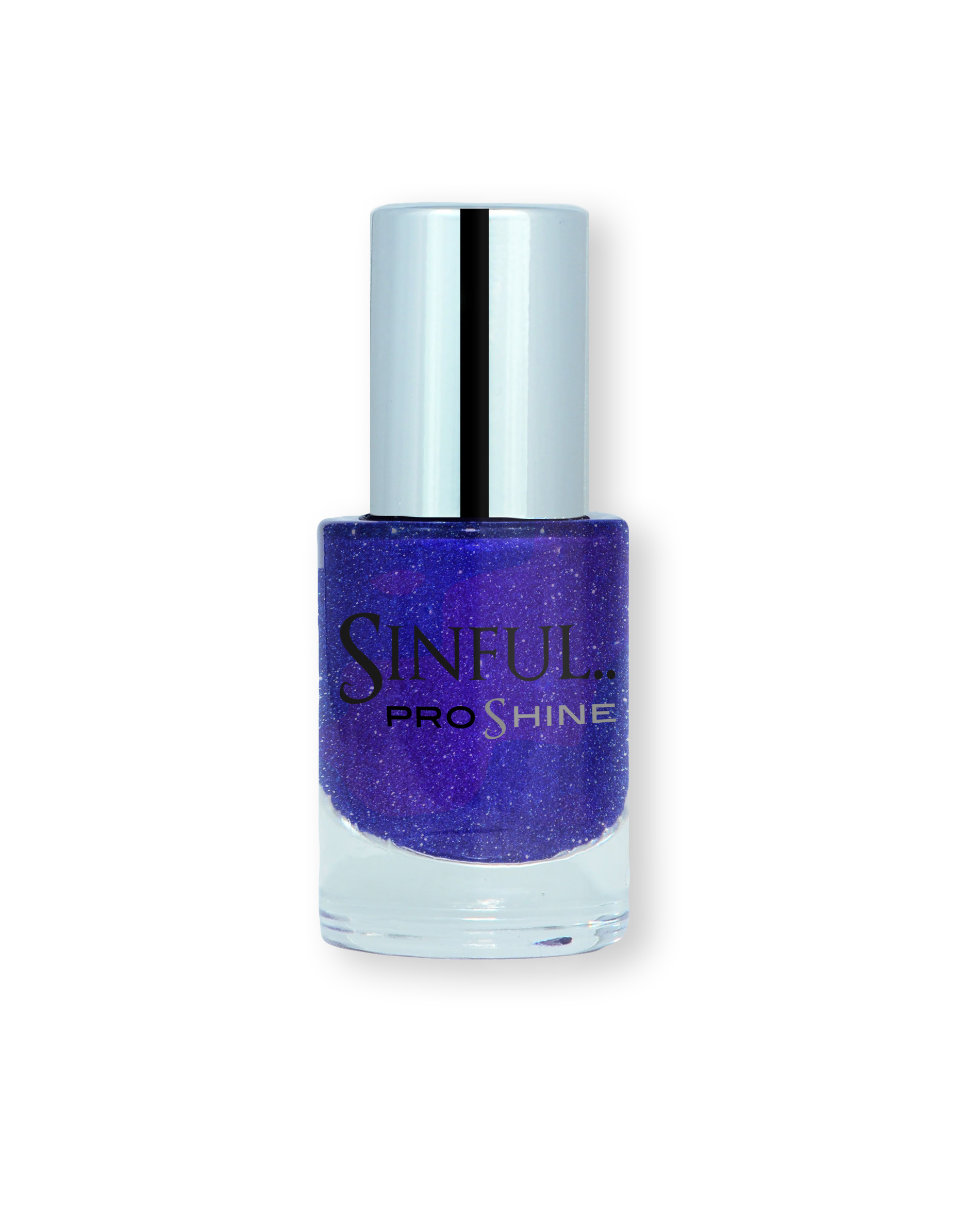 Sinful PROshine is a revolution into top spec imitation gel-like formula, easy application, full coverage and a sleek finish. Spoil yourself with the choice of 42 shades, expertly formulated with the finest grade of pigments. Russian Roulette: Dark indigo and navy pearl