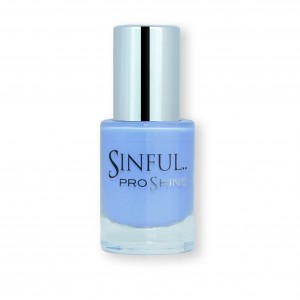 Sinful PROshine is a revolution into top spec imitation gel-like formula, easy application, full coverage and a sleek finish. Spoil yourself with the choice of 42 shades, expertly formulated with the finest grade of pigments. Sugar Daddy: Rich British blue with a soft shine finish