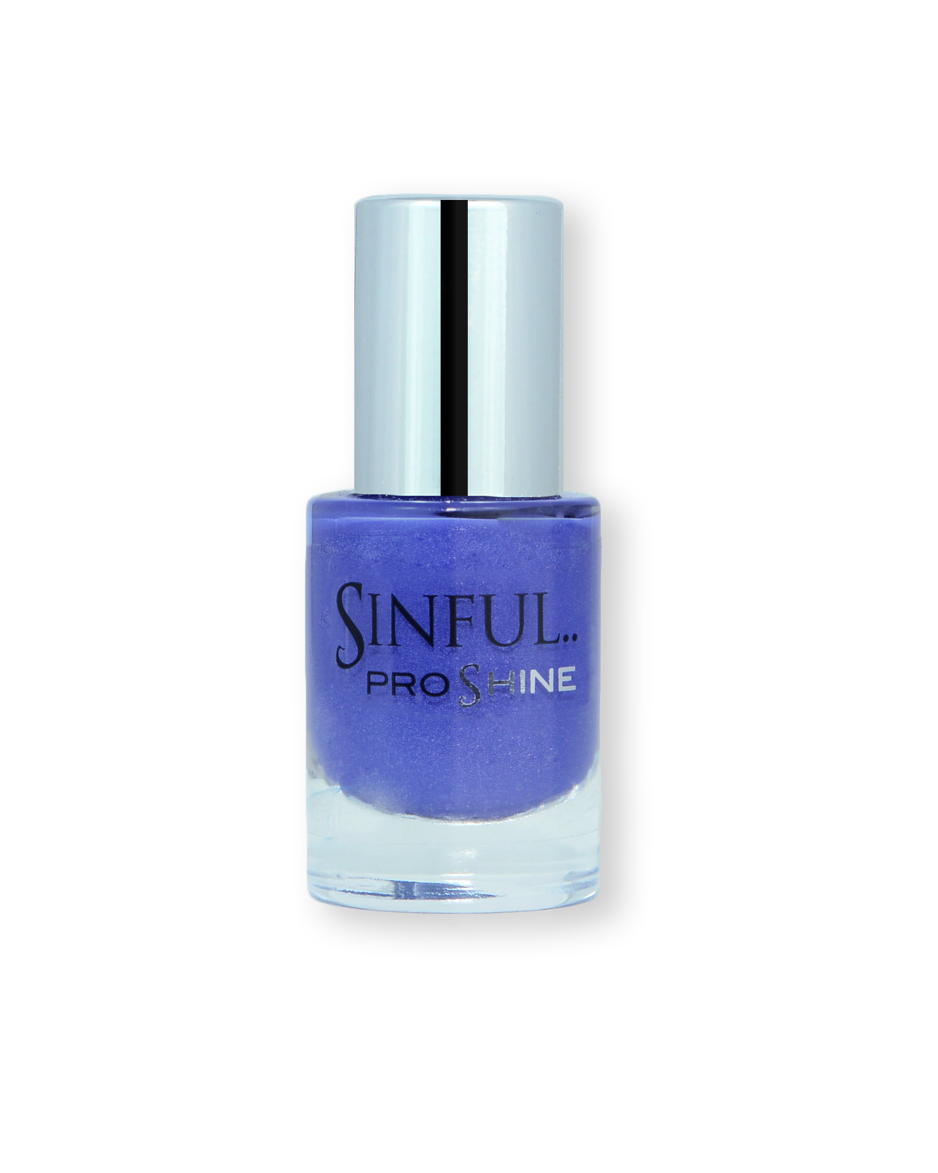 Sinful PROshine is a revolution into top spec imitation gel-like formula, easy application, full coverage and a sleek finish. Spoil yourself with the choice of 42 shades, expertly formulated with the finest grade of pigments. Suspended: Rich navy blue with a soft shimmer