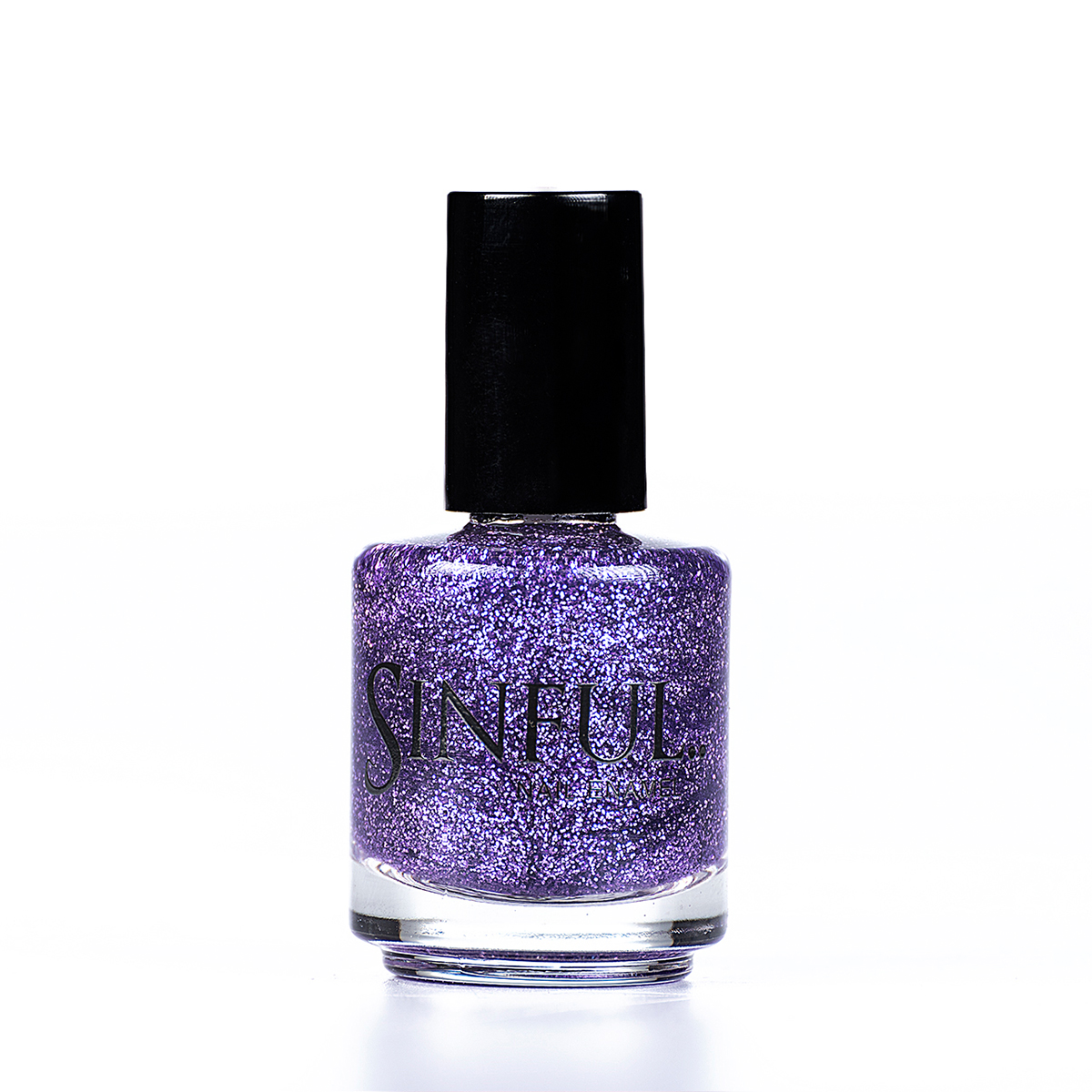 Lilac purple glitter that doesn't cause Chaos. Can be applied over a undercoat to give a quick, dazzling effect. For a super full nail glitter effect, apply 2-3 layers with a top coat. 15ml
