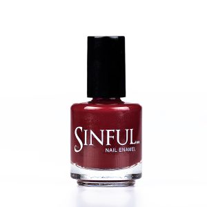 Dangerous.. A very popular wine red shade Sinful always recommends applying two coats of polish to give a solid colour, then applying top coat to extend the wear-time of the polish. 15ml