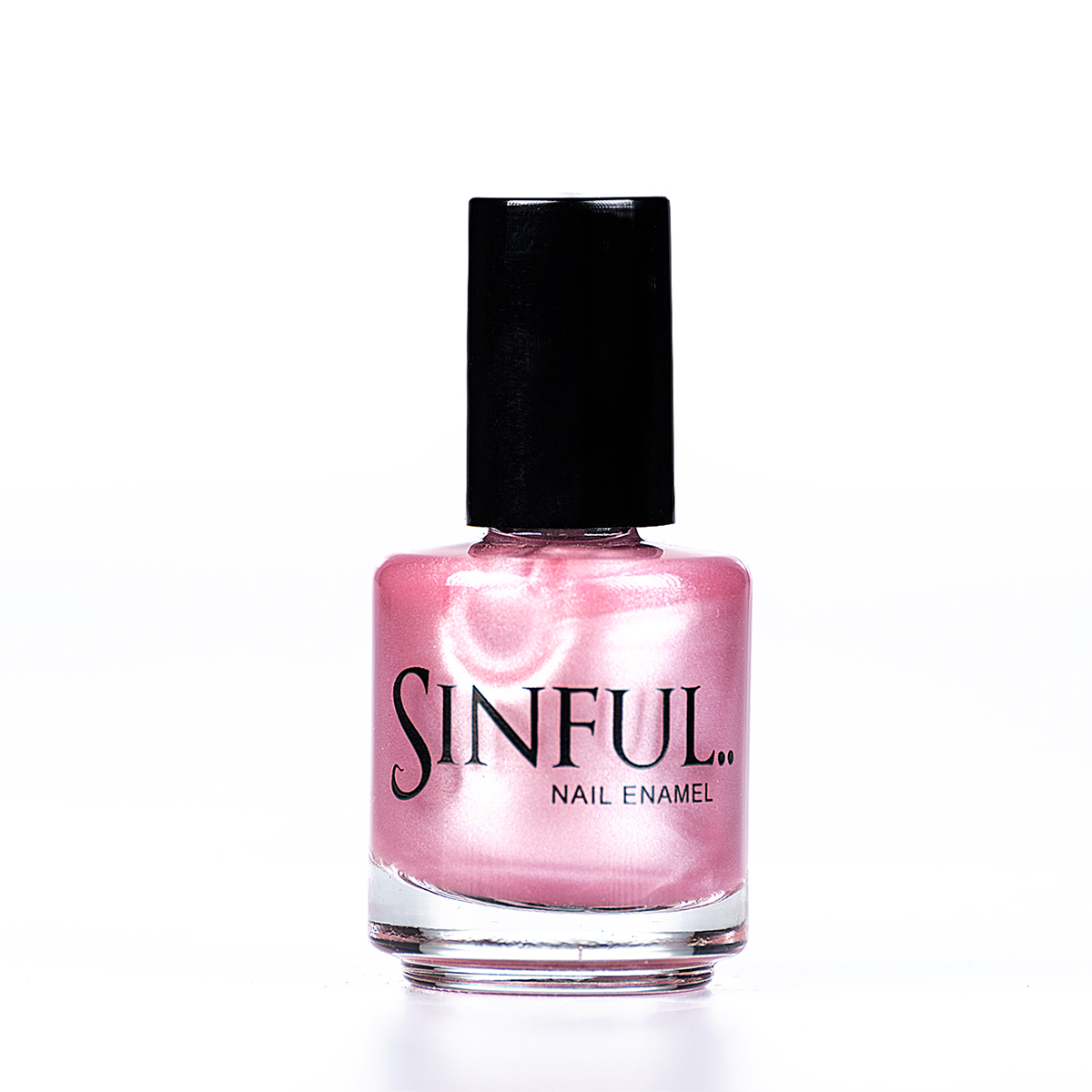 Princess Glossy pale pink - feel like nothing less than a Princess in this colour. Sinful always recommends applying two coats of polish to give a solid colour, then applying top coat to extend the wear-time of the polish. 15ml