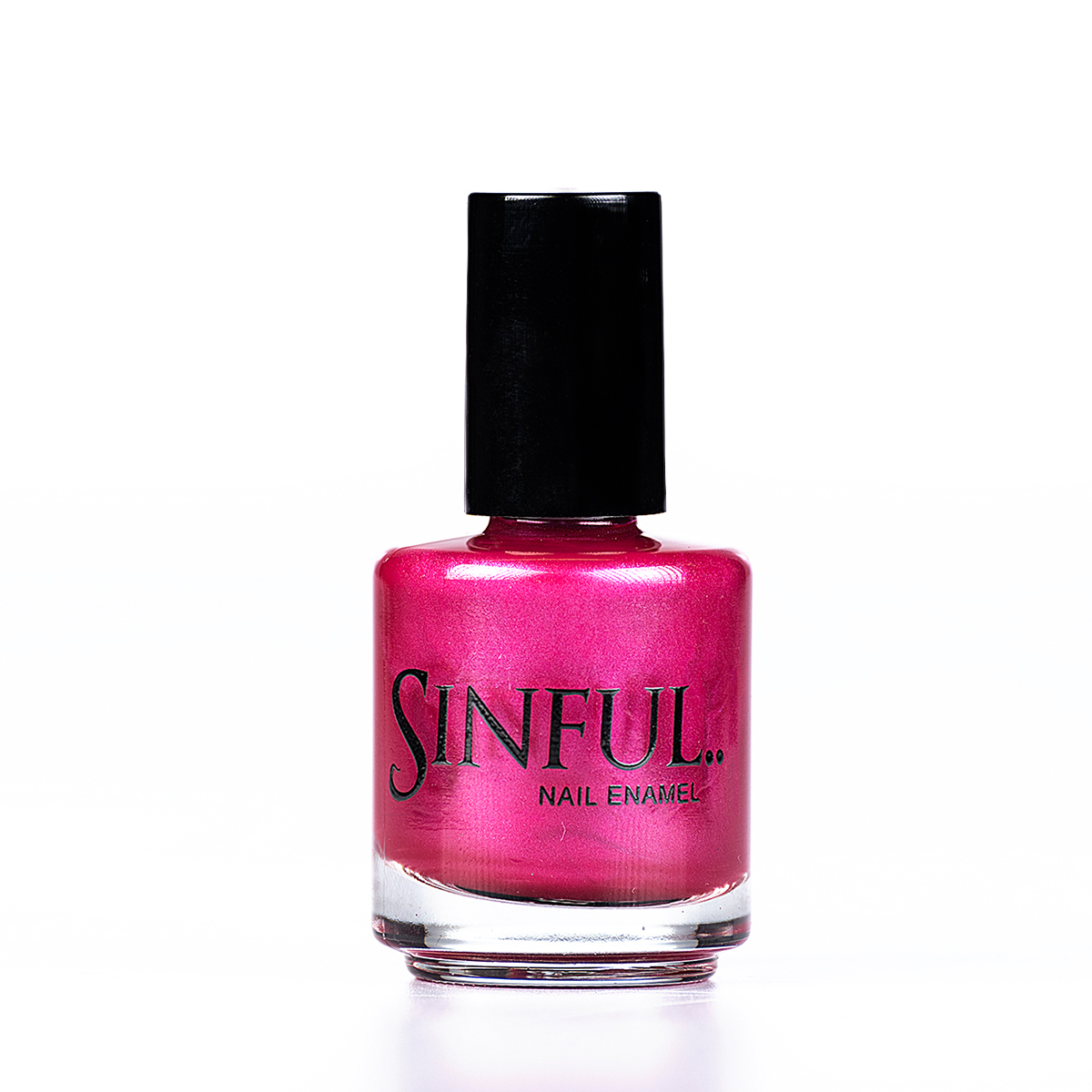 Tempest, a high gloss hot pink Sinful always recommends applying two coats of polish to give a solid colour, then applying top coat to extend the wear-time of the polish. 15ml