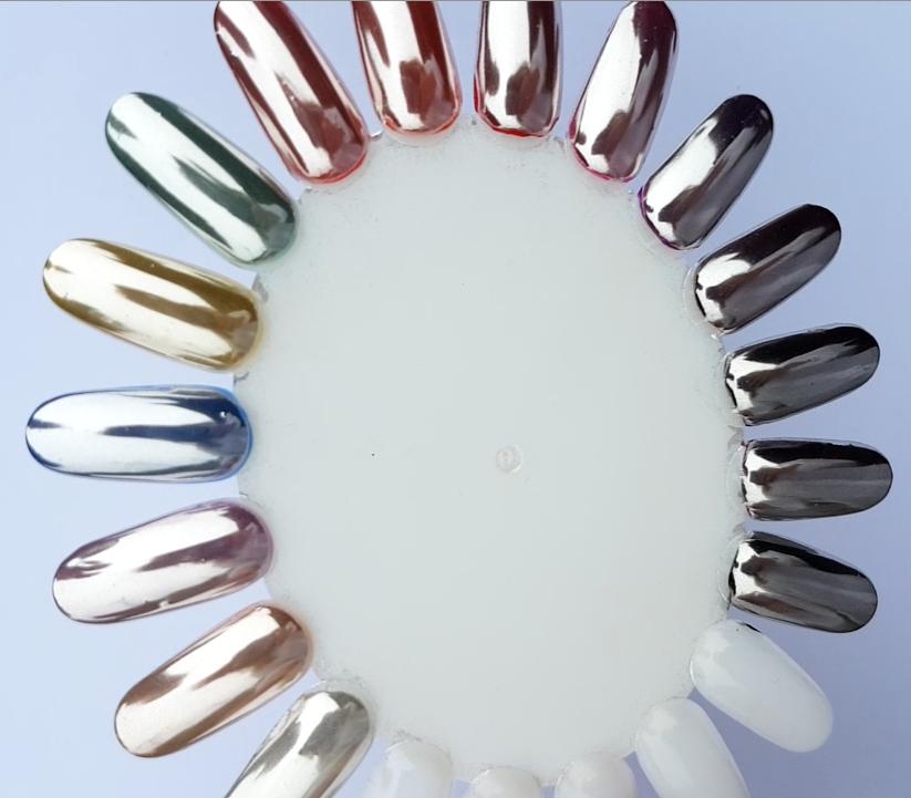 Mirror Chrome Powder - Sinful Nails UK | Professional Nail Polish