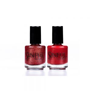 Romp & Lust Duo by Sinful Nails UK AW17 Duo's // Perfect for Christmas! 15ml Saving of £1.00