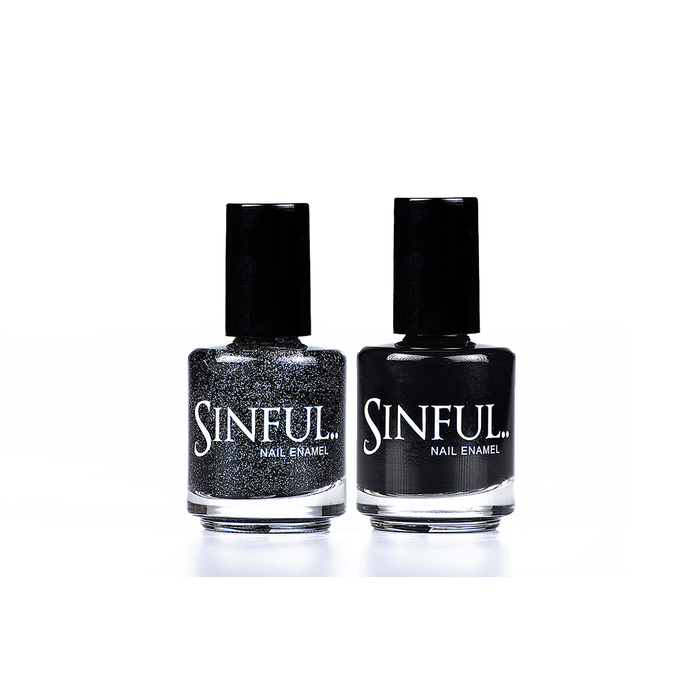 Dark & Stormy Duo by Sinful Nails UK AW17 Duo's // Perfect for Christmas! 15ml Saving of £1.00